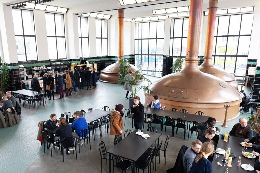 Restaurant at Wiels: Combine culture & good food in an old modernist brewery